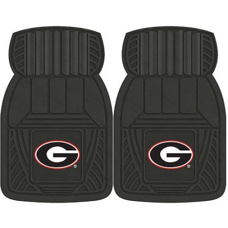 NCAA 4-Piece Front #36572599 and Rear #19888861 Heavy-Duty Vinyl Car Mat Set, University of Georgia by Sports Licensing Solutions LLC