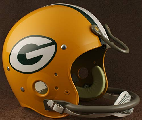 Riddell Green Bay Packers 1961-1979 NFL Authentic Throwback Football Helmet