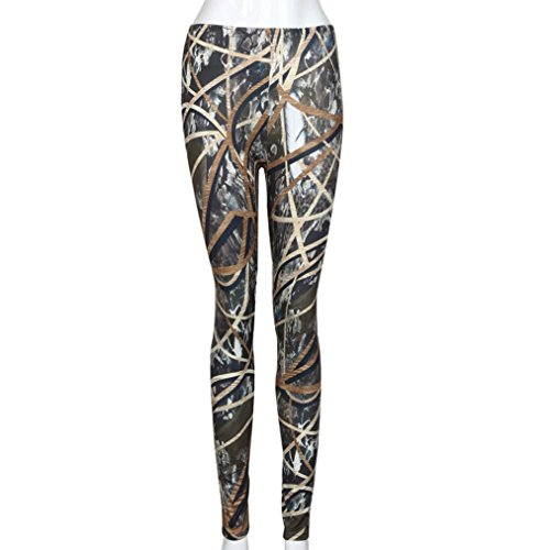 7d82fc0a9bf624 60%OFF Perman Fashion Women Skinny Abstract Art Lines Printed Stretchy  Pants Leggings