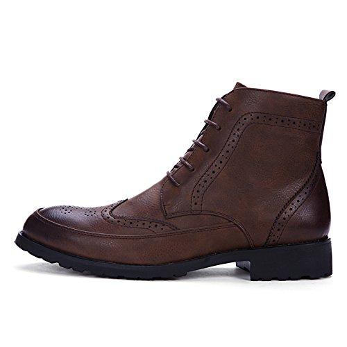 Stivaletti Stivaletti Sintetica Dimensione 38 in in Scarpe Casual Boots Marrone Occasions EU Anti Pelle Morbida Bangxiu all Men Marrone Color for Scivolo Oxford Daily for wHtqH0R