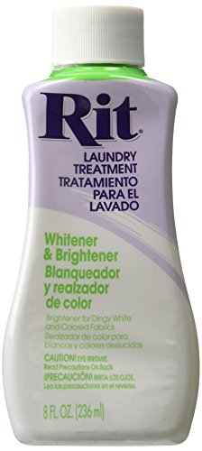 Price comparison product image Rit Dye Liquid Fabric Dye, 8-Ounce, Whitener and Brightener