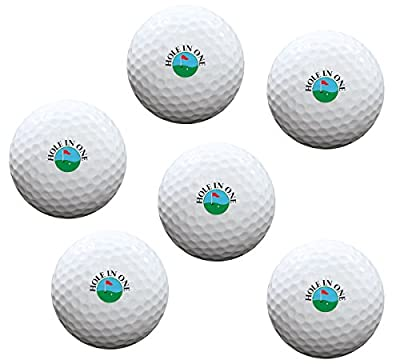 Exposures Hole In One Golf Balls Set of 6