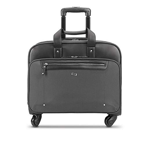242083f66213 Solo New York Gramercy Rolling Laptop Bag. 4 Wheel Rolling Briefcase ...