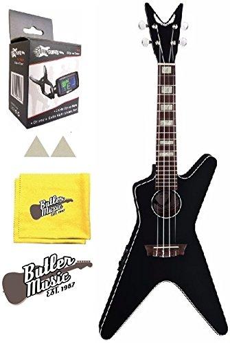 - Dean UKE ML E CBK Concert Size Acoustic Electric Ukulele w/Effin Tuner and More