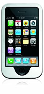 Core Cases Slider Aluminum Case for iPhone 3G/3GS - Brushed Silver