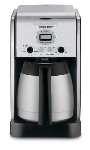 Cuisinart DCC-2750 Extreme Brew 10-Cup Thermal Programmable Coffeemaker, Silver