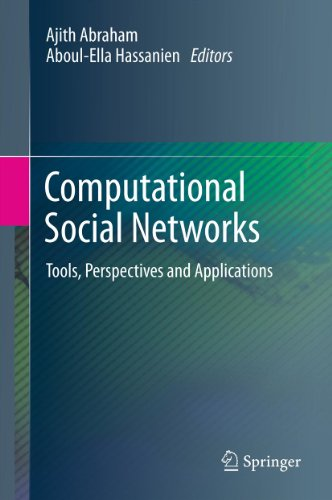 Download Computational Social Networks: Tools, Perspectives and Applications Pdf