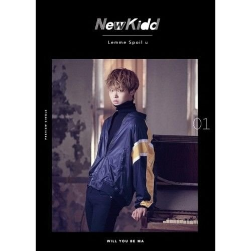 NewKidd - [Lemme Spoil U/Will You Be Ma] CD+PhotoBook+PhotoCard+Paper Stand K-POP SEALED - Kidd Photo