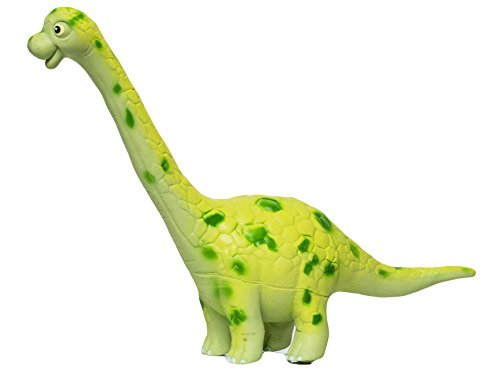 Large Brachiosaurus 8.25 Inch Soft Rubber Cartoon Dinosaur Toys (Large Soft Rubber)