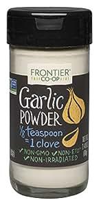 Frontier Garlic Powder, 2.4-Ounce Bottle