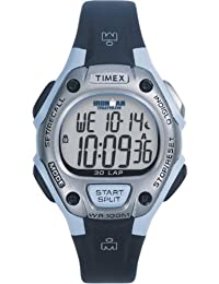 Womens Ironman 30-Lap Digital Quartz Mid-Size Watch, Blue - T5E951
