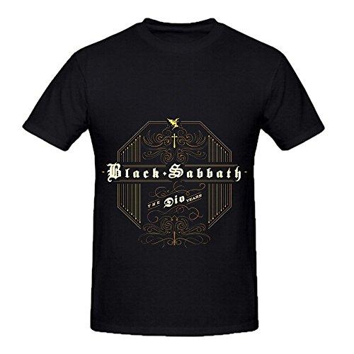 Black Sabbath The Dio Years Funk Men Round Neck Design Tee