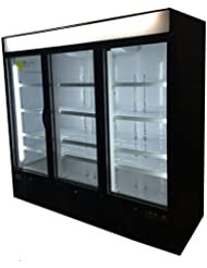 Commercial 72cf Frozen Food Ice Cream Glass Door Reach In Freezer Merchandiser
