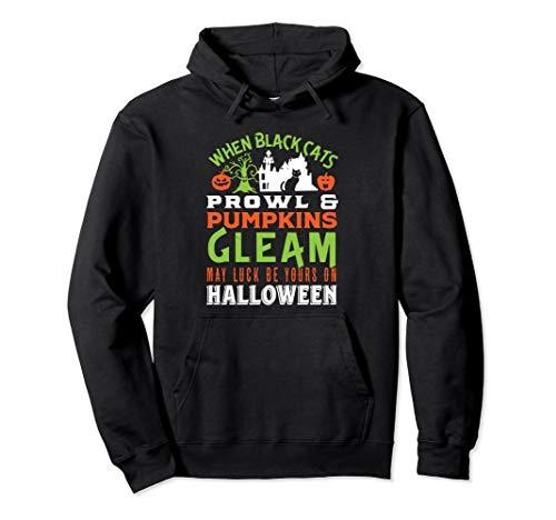 When Black Cats Prowl Pumpkins Gleam Halloween Poem