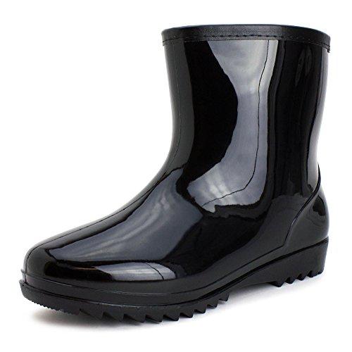 Easy Men's 8 Inch Short Four-Season Rain/Work Boots Mens 11 by Easy