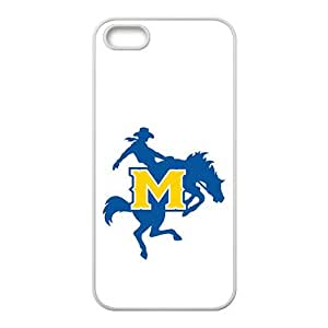 NCAA Mcneese State Cowboys Primary 2011 White For SamSung Note 4 Phone Case Cover