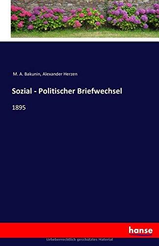 Sozial - Politischer Briefwechsel: 1895 (German Edition) pdf epub