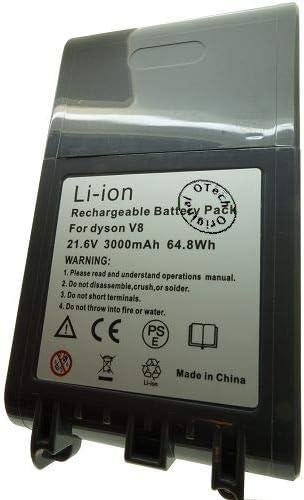 Otech batería Compatible para Dyson V8 Absolute Cord-Free