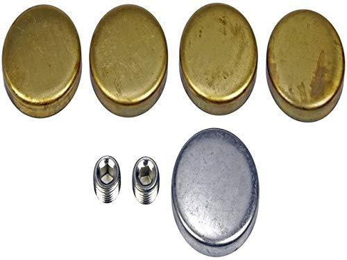 Dorman - Autograde 567-017 Amc Brass Expansion Plug Kit 5 Expansion Plugs 2 Pipe Plugs