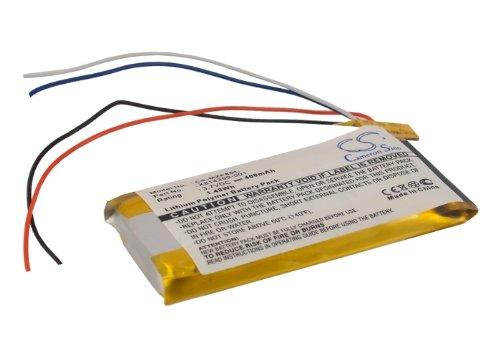 Battery Microsoft Zune 80GB, MICZUN802FB, Zune 120GB, Zune 120GB 1376, H3A00, Li-Polymer, 400 mAh VINTRONS CS-MZF8SL
