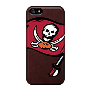 Iphone 5/5s EAO7722VKpm Allow Personal Design Realistic Tampa Bay Buccaneers Skin Protector Hard Phone Cover -MansourMurray