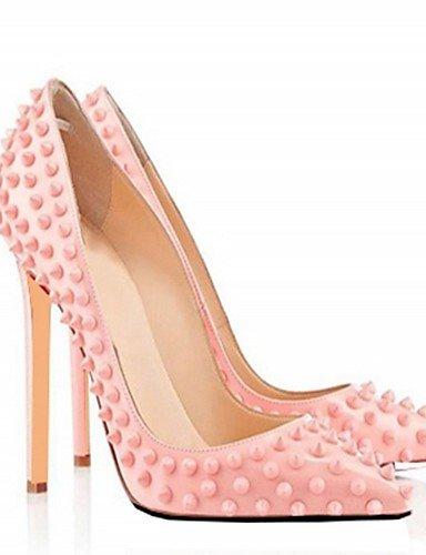 Fiesta Stiletto negro Rosa 5 Eu45 tacones Vestido Zapatos tacones 5 Pink De Uk10 5 boda tacón Casual Uk0 Trabajo us12 Ggx Cn47 Noche Eu31 us1 5 microfibra Y Oficina Cn30 Mujer Black aOwIIT