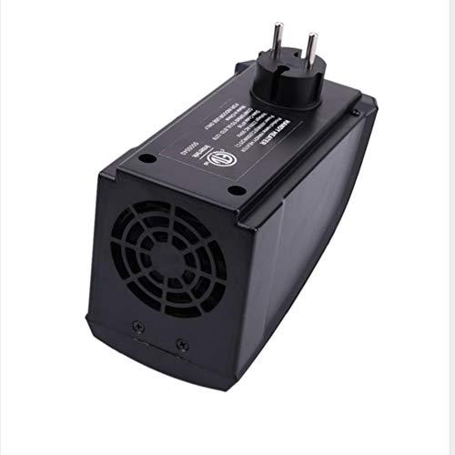 YMXLJJ Mini Hogar Eléctrico Calentador Eléctrico Estufa Calentador de Manos Plug-in 400 W Calentador de Pared para Cocina Bar Baño Hotel Viajes (Negro): ...