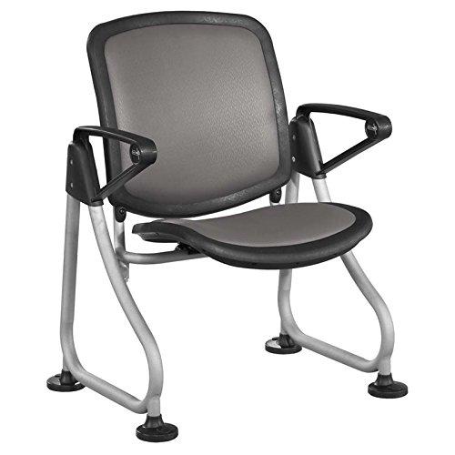 (OFM K212-CHCL-SLV ReadyLink Row Starter Chair)