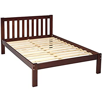 Amazon Com Bedz King Mission Style Full Bed Espresso