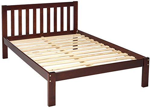 Donco Kids 1510FCP Series Bed, Full, Dark Cappuccino (Youth Full Bed Captain)