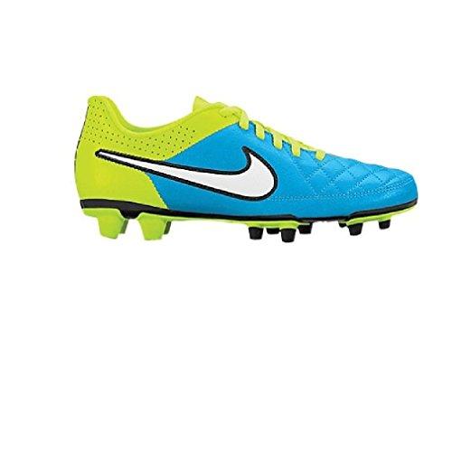Nike Womens Tiempo Rio Ll Fg Blå Lagunen / Volt