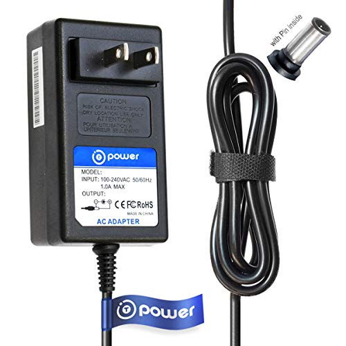 T-Power (6.6ft Long Cable) Ac Dc adapter Compatible with Sony Streaming Network Media Player SMP-N100 SMPN100 SMP-NX20 SMPNX20 SMP-N200 SMPN200 switching power supply
