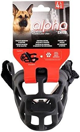 Zeus Bozal Alpha, Talla 4: Amazon.es: Productos para mascotas