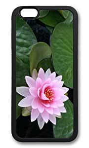 iPhone 6 Plus Case,VUTTOO Stylish Lotus Flower Soft Case For Apple iPhone 6 Plus (5.5 Inch) - TPU Black