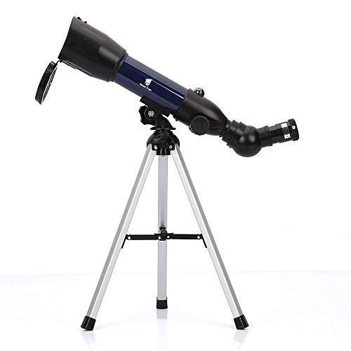 GeerTop Astronomical Refractor Telescope with Tabletop Tripod & Compass, 360 X 50mm, Perfect for Kids Sky Gazers & Birds - Tripod Telescope Tabletop