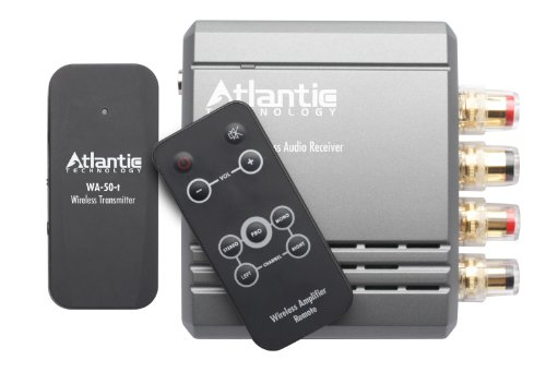 Atlantic Technology WA-5030-SYS Wireless Transmitter and Amplifier/Receiver System by Atlantic Technology
