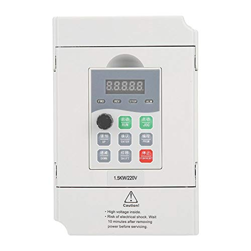 1.5kW General Frequency Inverter Converter Vector Type Single Phase AC 200-240V by Wal front (Image #7)