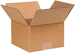 """product image for Partners Brand P774 Corrugated Boxes, 7""""L x 7""""W x 4""""H, Kraft (Pack of 25)"""