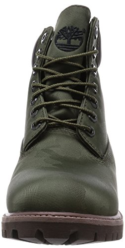Timberland 6 in Fabric Green, Men's Boots Track Green
