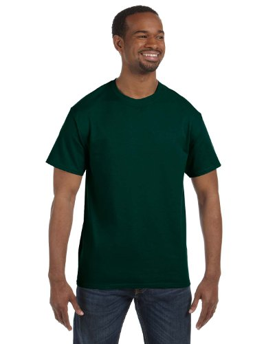 Gildan Heavy Cotton 5.3 Ounce T-Shirt - Large - Forest (Heavy Green)