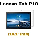 "M.G.R.J® Tempered Glass Screen Protector for Lenovo Tab P10 Tablet (10.1"" inch)"