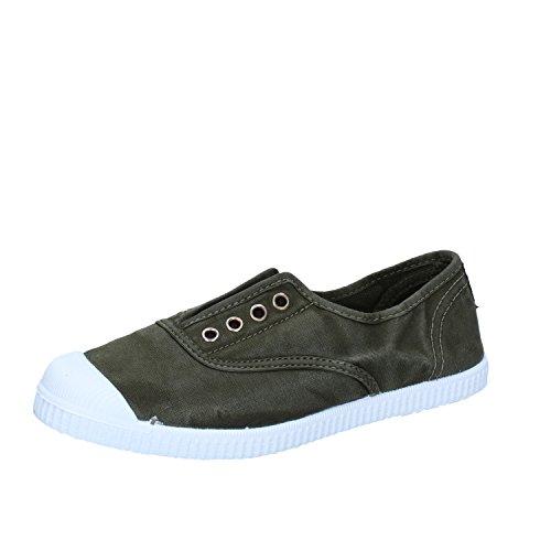 Cienta 70777 21/27 gris unisex zapatos de la tela elástica 27 7YIcEeJ