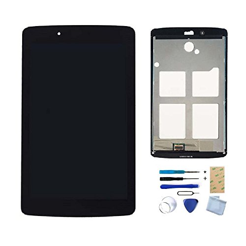 LCD Display Touch Screen Digitizer Assembly for LG V400 V410 VK410 V410 G Pad 7.0 Replacement Parts + Install Tools + Adhesive