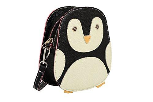 Blue Cross World Penguin Body Mellow Black Bag qgaC0