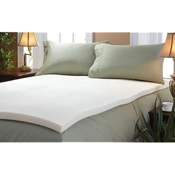 comfort revolution 1 5 memory foam mattress topper cal king kitchen dining. Black Bedroom Furniture Sets. Home Design Ideas