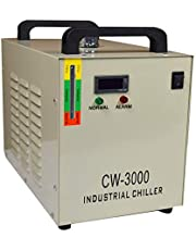 INTBUYING Industrial Water Chiller for CNC/Engraving Machine 9L Capacity Industrial Water Cooling Chiller