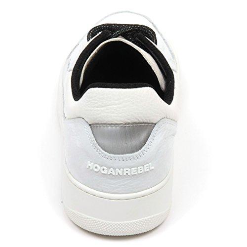 grigio shoe HOGAN scarpa sneaker chiaro C7484 avorio Avorio uomo PURE REBEL 86 man Grigio fwqZwHn1x
