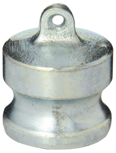 Dixon Valve 150-DP-PM Plated Iron Boss-Lock Type DP Cam and Groove Fitting, Dust Plug, 1-1/2