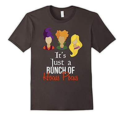 It's Just a Bunch of Hocus Pocus Tee Funny Halloween T Shirt