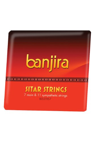 Banjira Sitar String Set, Std, 7, Light